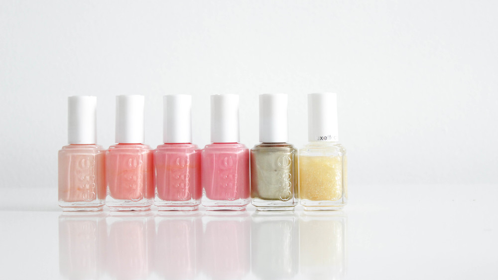 Essie A Crewed Interest, Haute As Hello, Tart Deco, Knockout Pout, Good as Gold, As Gold as it Gets