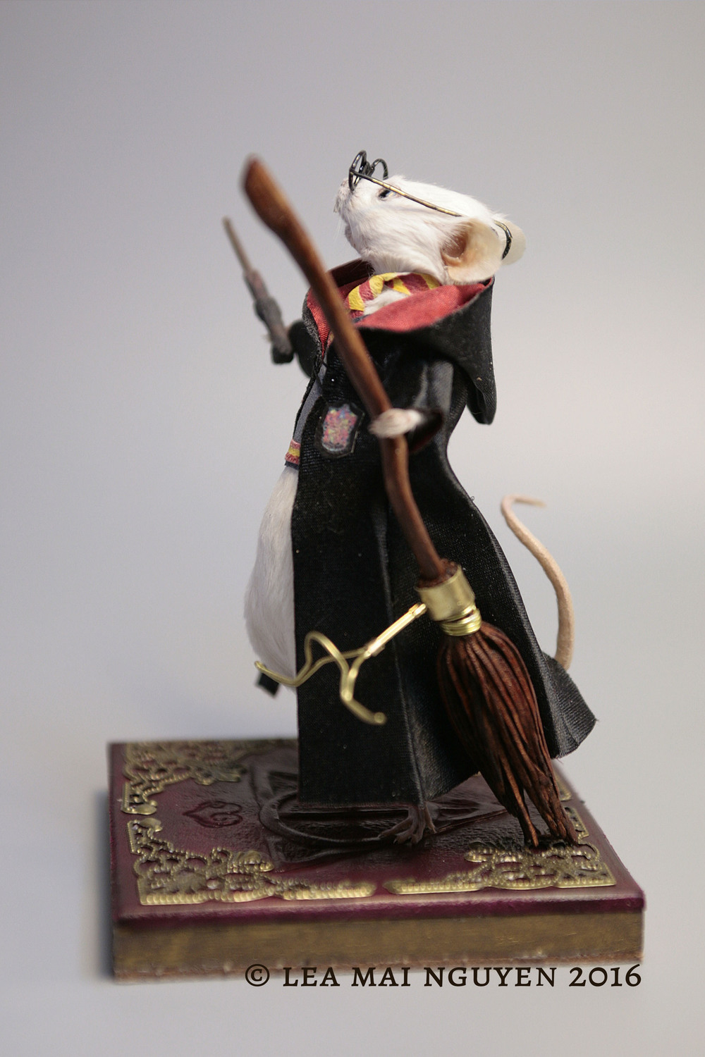 Mouse Taxidermy Harry Potter