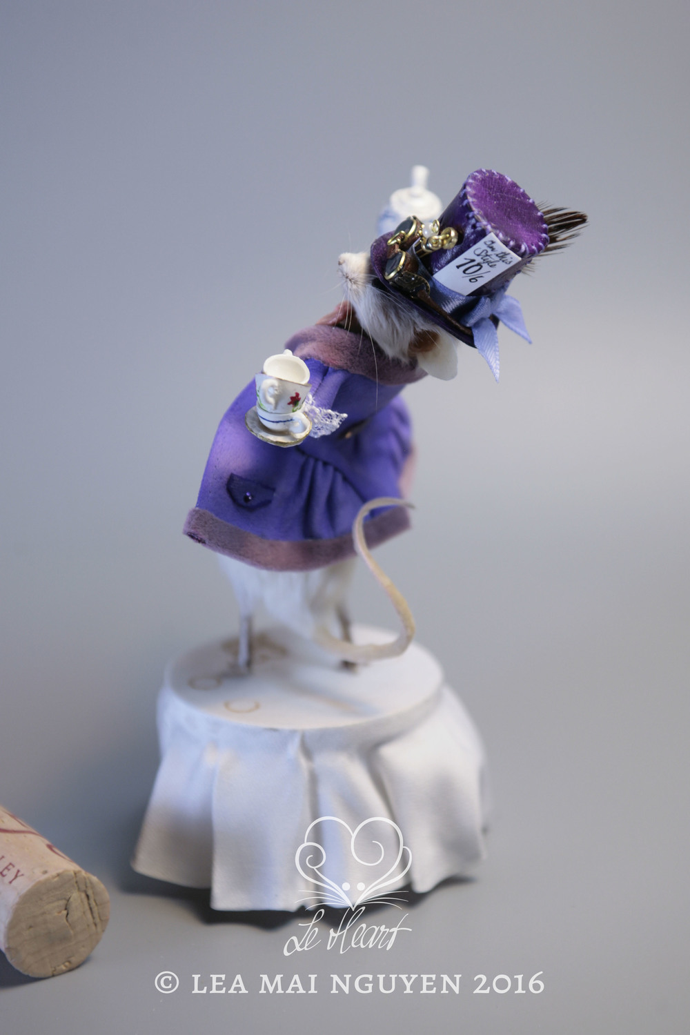 Purple Mad Hatter