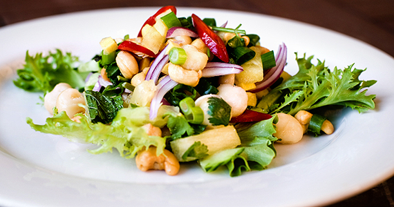 Cashew and Macadamia salad from Paladar Restaurant Alphington