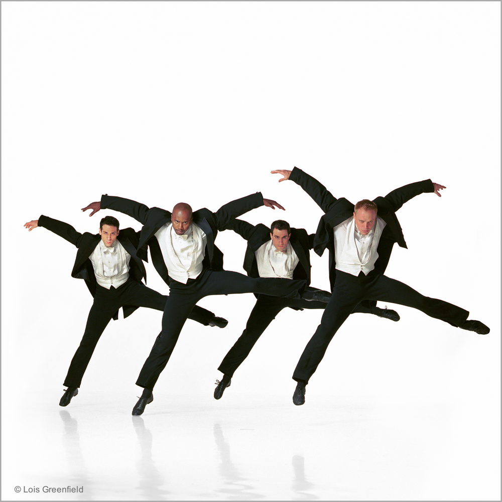 "Orion Duckstein, Ted Thomas, Robert Kleinendorst, Michael Trusnovec, ""Cloven Kingdom"", PAUL TAYLOR DANCE COMPANY"
