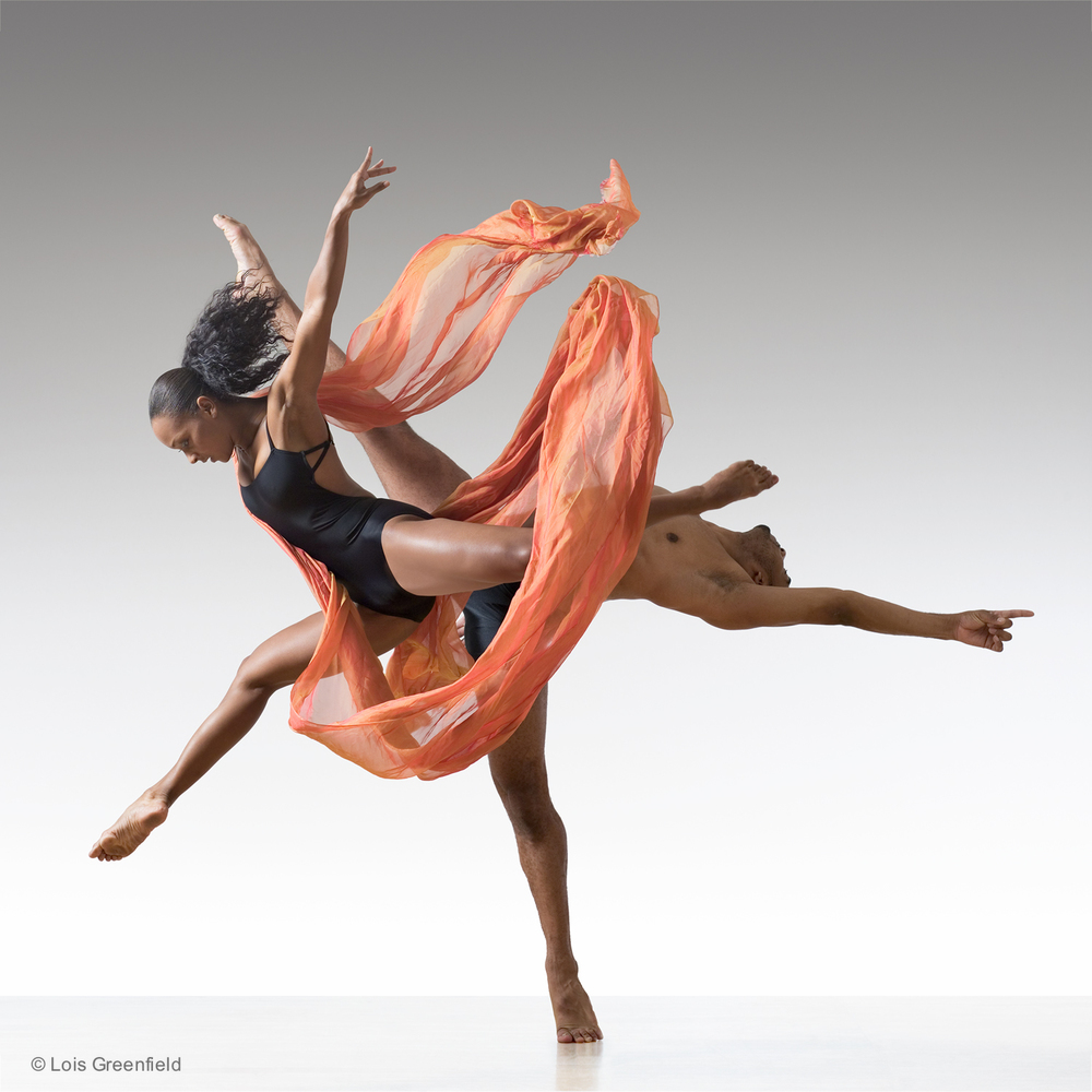 Candice Monet Mccall and Anthony Burrell of BALLET HISPANICO