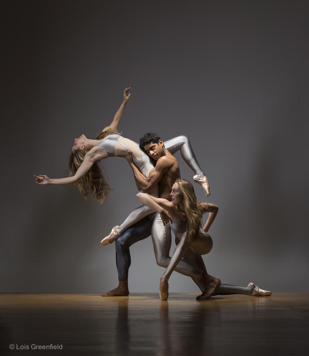 Megan Dickinson, Amar Ramasar, Amber Neff, KATHRYN POSIN DANCE COMPANY
