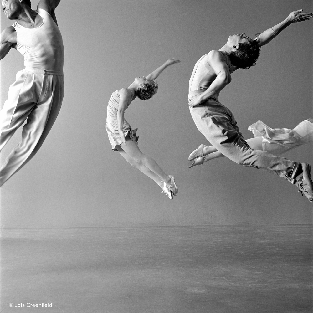 "Amy Pivar, Arnie Zane, Bill T. Jones, and Janet Lilly, ""Freedom of Information"", BILL T. JONES/ARNIE ZANE DANCE COMPANY"