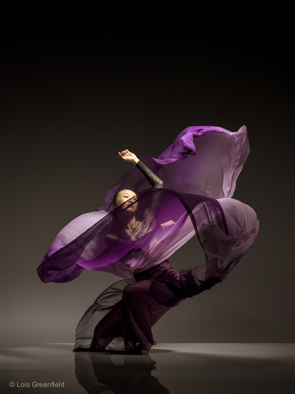 Peiju Chien-Pott of THE MARTHA GRAHAM DANCE COMPANY