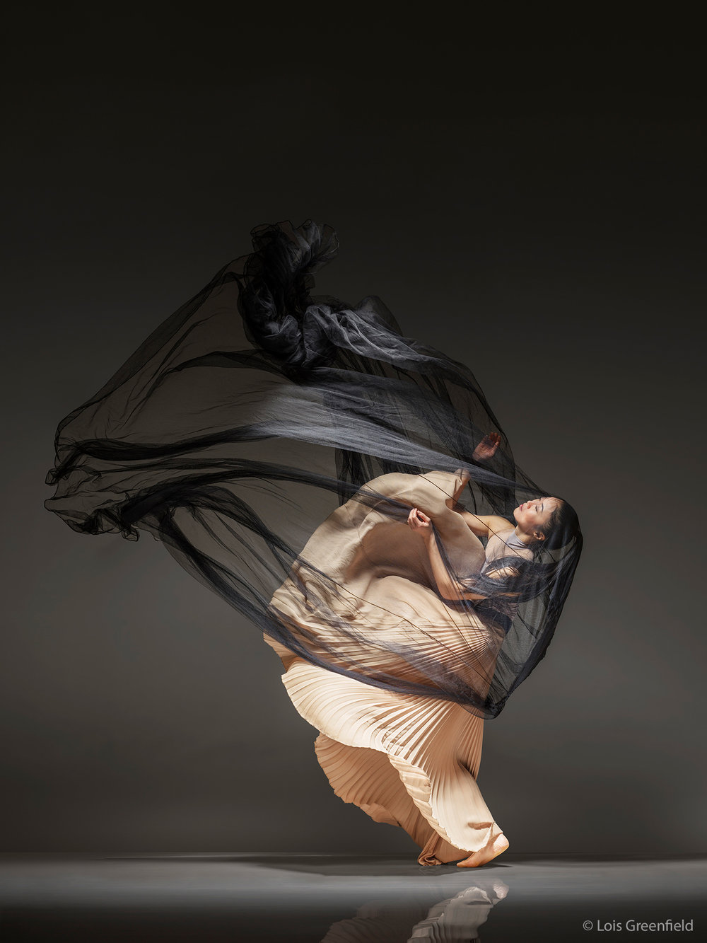 Peiju Chien-Pott of THE MARTHA GRAHAM COMPANY