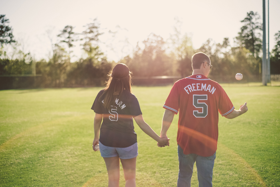KrisandraEvans.com | Atlanta Engagement Photographer | Baseball engagement