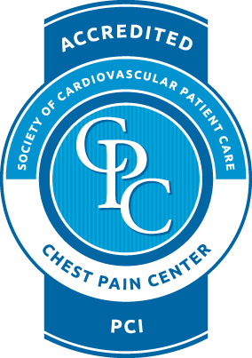 Chest Pain Accreditation  Heart attacks are the leading cause of death in the U.S., with 600,000 people dying of heart disease each year. Recognizing early symptoms of a heart attack can be vital in saving lives through faster and more effective treatment.  Lutheran Medical Center is fully accredited as a Chest Pain Center by the Society of Cardiovascular Patient Care. That means that if you or someone you love has heart attack symptoms, you can be assured that our care meets the highest standards for quality and expertise.  When women do go to the hospital, doctors may miss the diagnosis of heart attack because the symptoms are vague. Without a definite diagnosis, a woman may be sent home thinking that her symptoms don't mean anything serious.  Studies confirm that heart disease may differ in women in ways that doctors may not realize. Heart disease in many women doesn't occur from obvious blockages in arteries as it does in men. Instead, for women, plaque often spreads evenly along the artery wall or in the smaller arteries—areas hidden from an angiogram, the standard imaging test that measures blood flow in the big arteries.