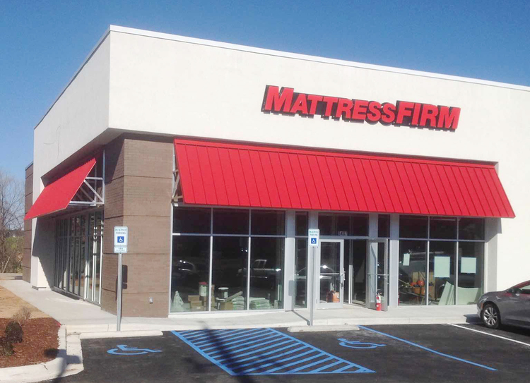 mattress firm building. This Site Is Prime Real Estate For Mattress Firm As The 280 Corridor Continues To Expand And New Homes Are Being Constructed In Areas Such Hoover Building