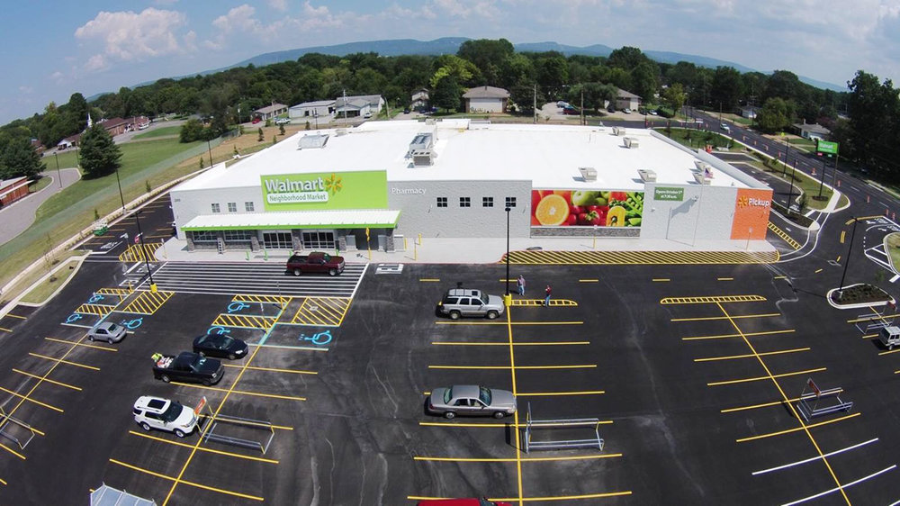 Completed Projects Walmart Neighborhood Market