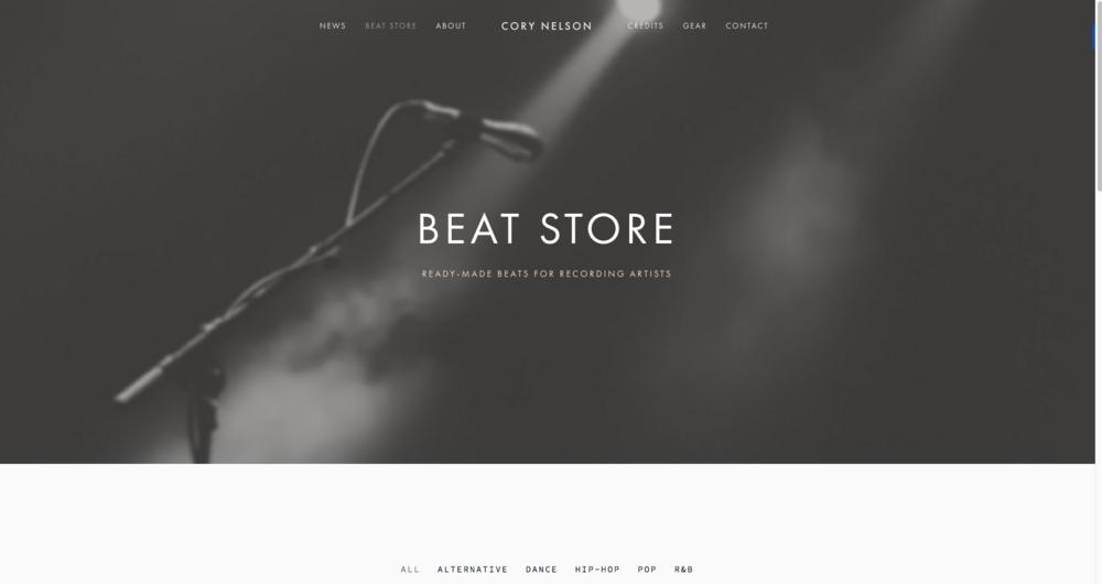 Cory Nelson's Beat Store