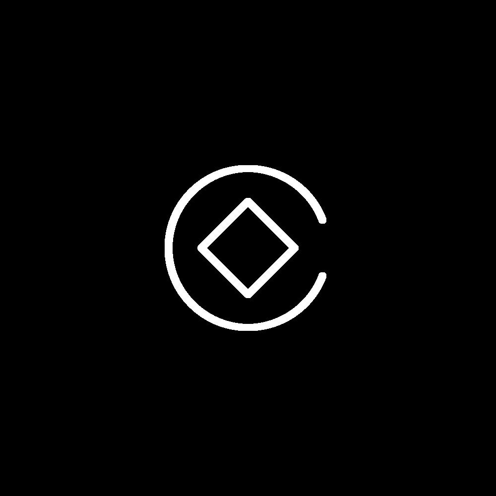 Squarespace Circle White Logo