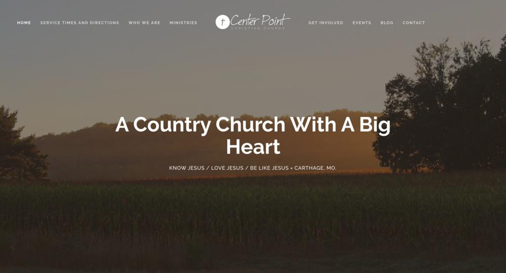 Christian Church Website: Center Point Christian Church