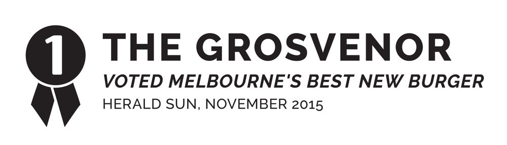 STKBB Food Truck | The Grosvenor Burger voted best new burger in Melbourne by the Herald Sun