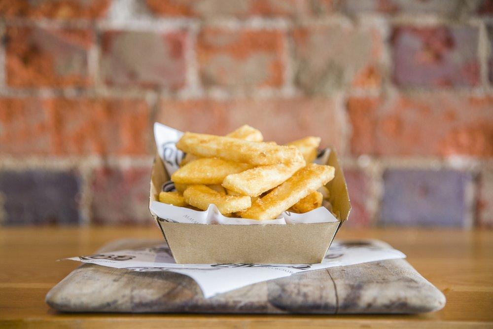 battered chips - $5