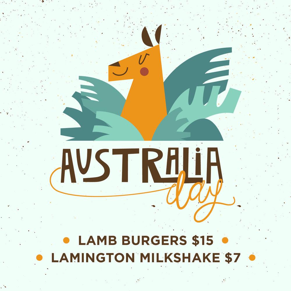 Australia Day at St Kilda Burger Bar