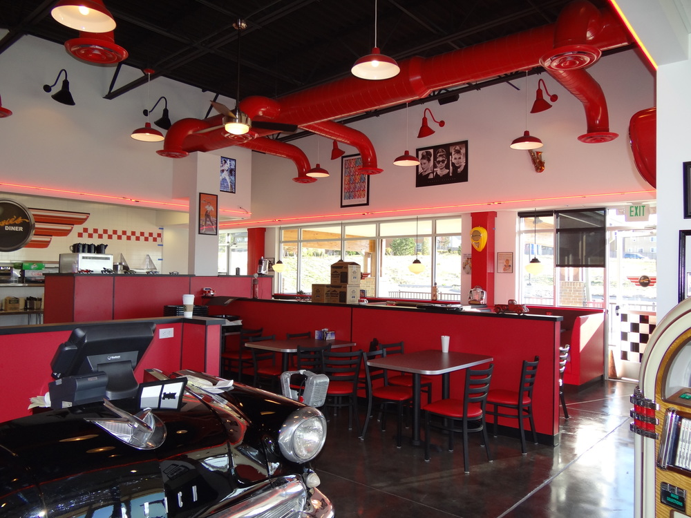 Rosies Diner Innovative Commercial Construction