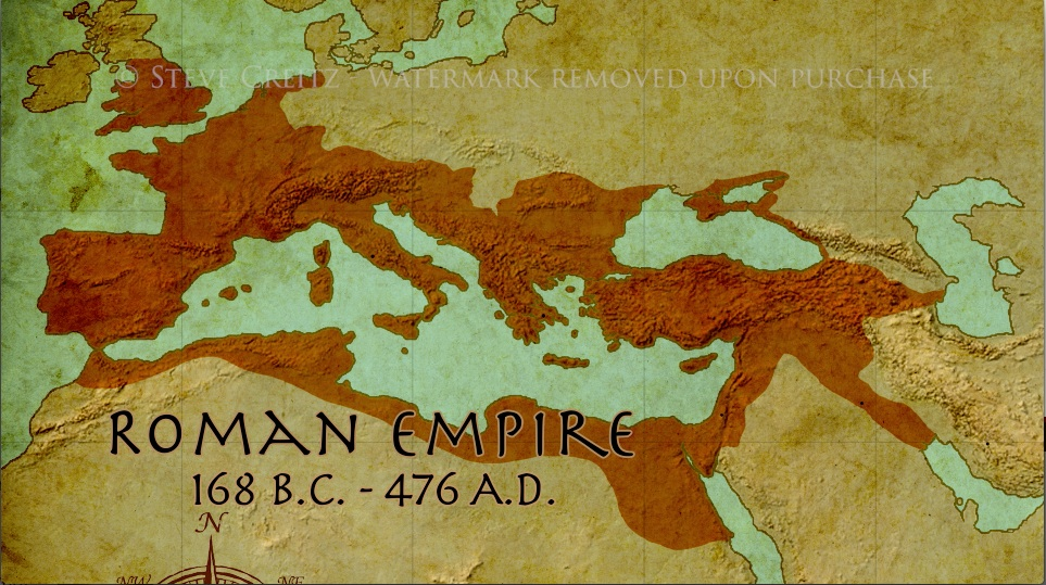 Roman Empire Map Animation Creitz Illustration Studio