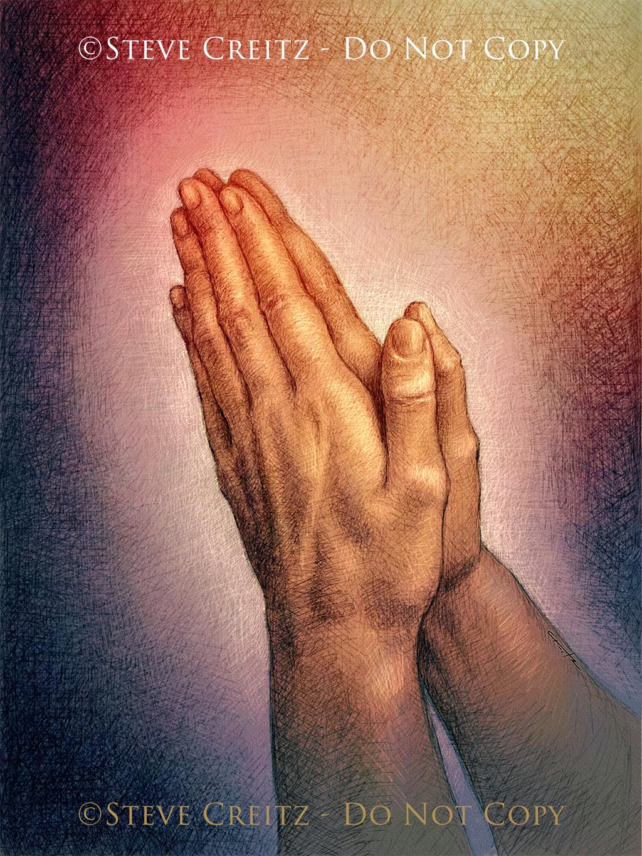 praying hands hd creitz illustration studio