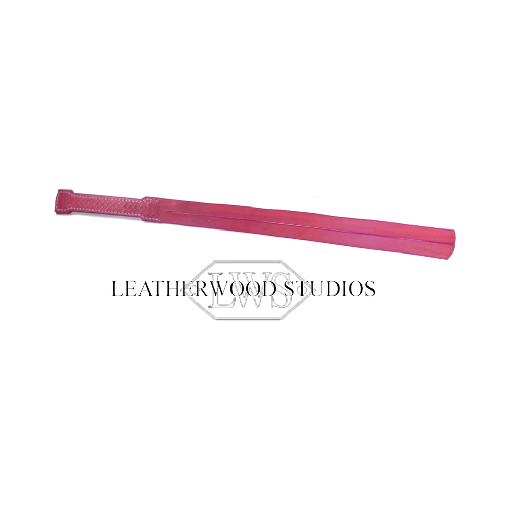 Tawse in Petal Pink Leather by LeatherWood Studios