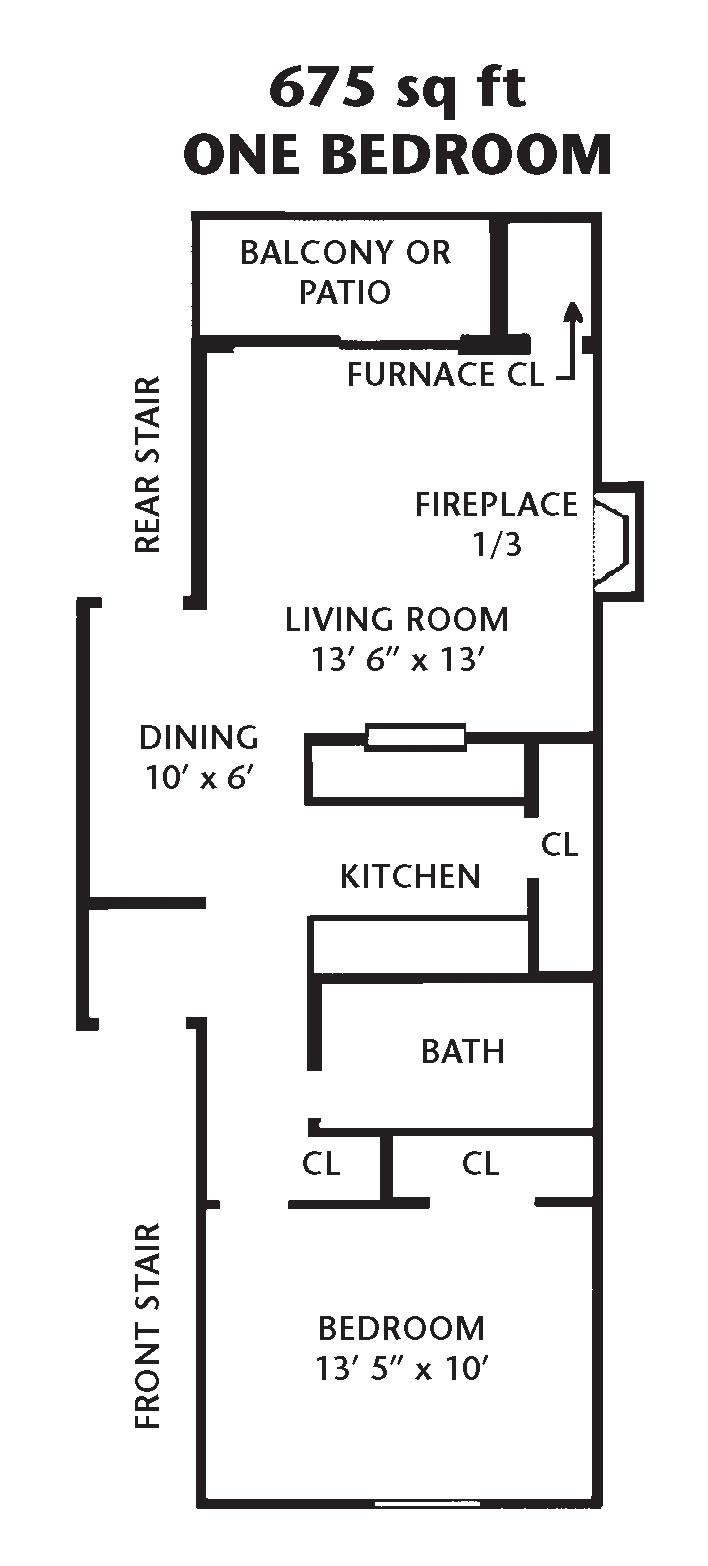 675 sq ft
