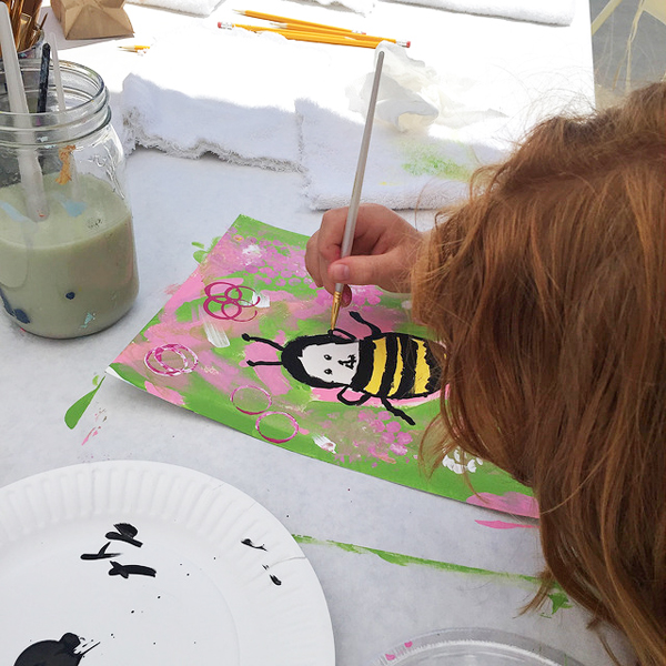 May 2015  Let's Bee Creative Mission Viejo Arts Alive Festival