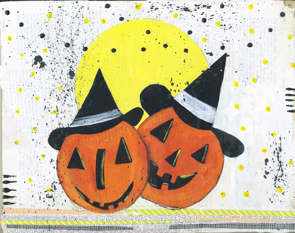Full Moon Pumpkins