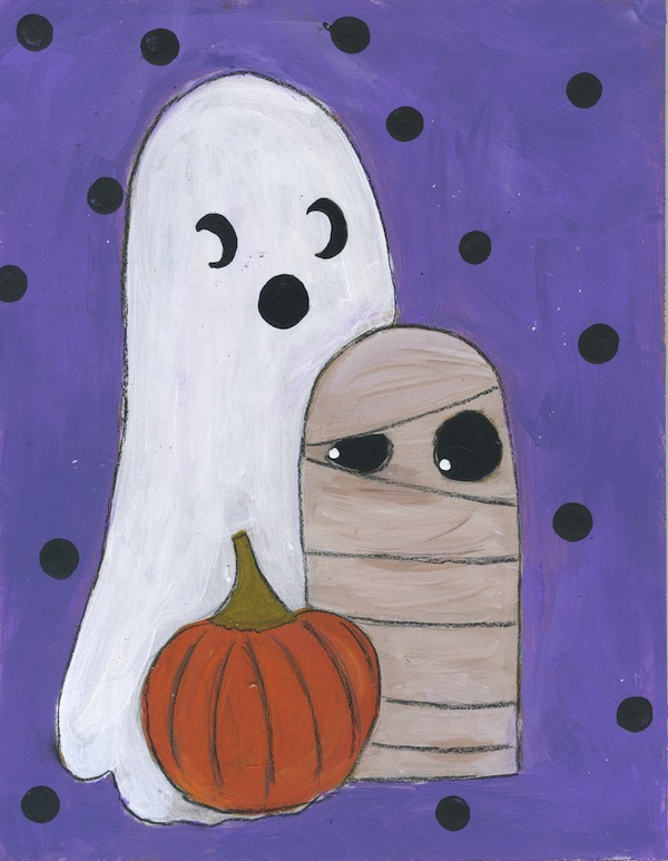 Ghost and Mummy