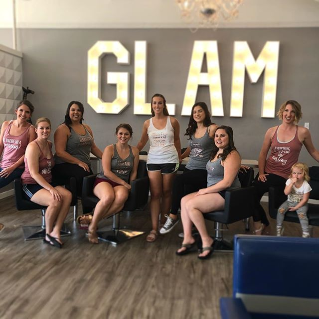 Everyone at SJL would like to wish Abi a very happy wedding day! We had a blast glamming you ladies and can't wait to see you all again! #mstomrs💍
