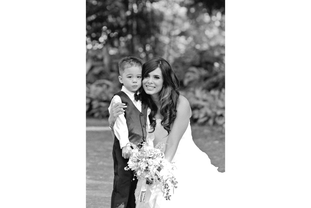Bride and Ring Bearer