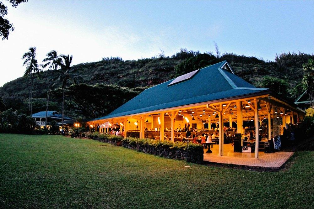 Reception Waimea Valley