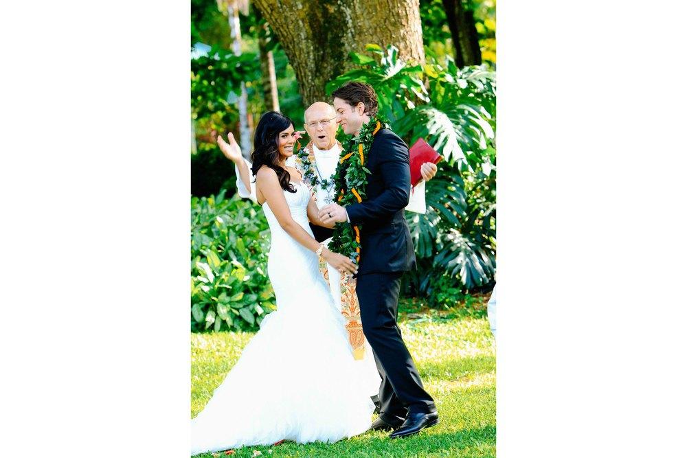 Waimea Valley Wedding Photography Ceremony
