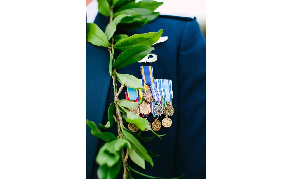 Military Wedding Details
