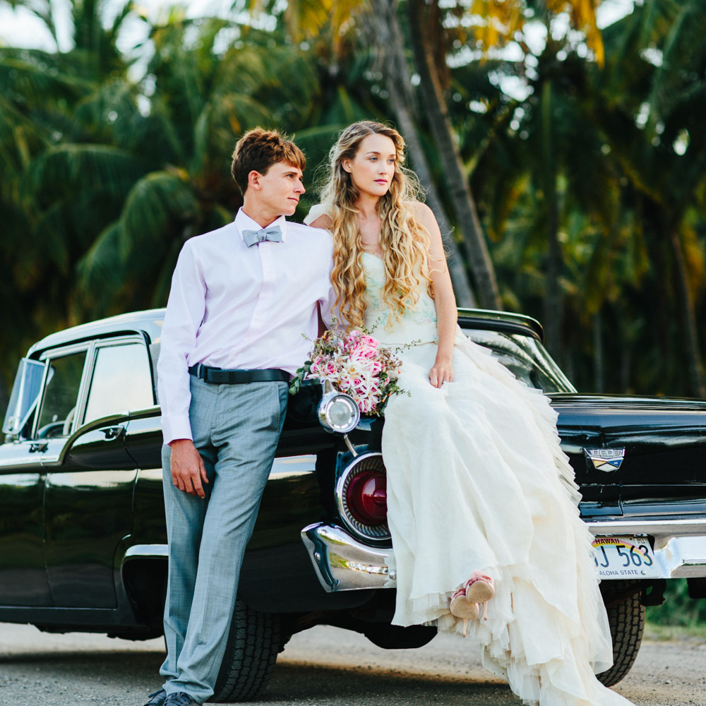 Wedding Photography Vintage Car