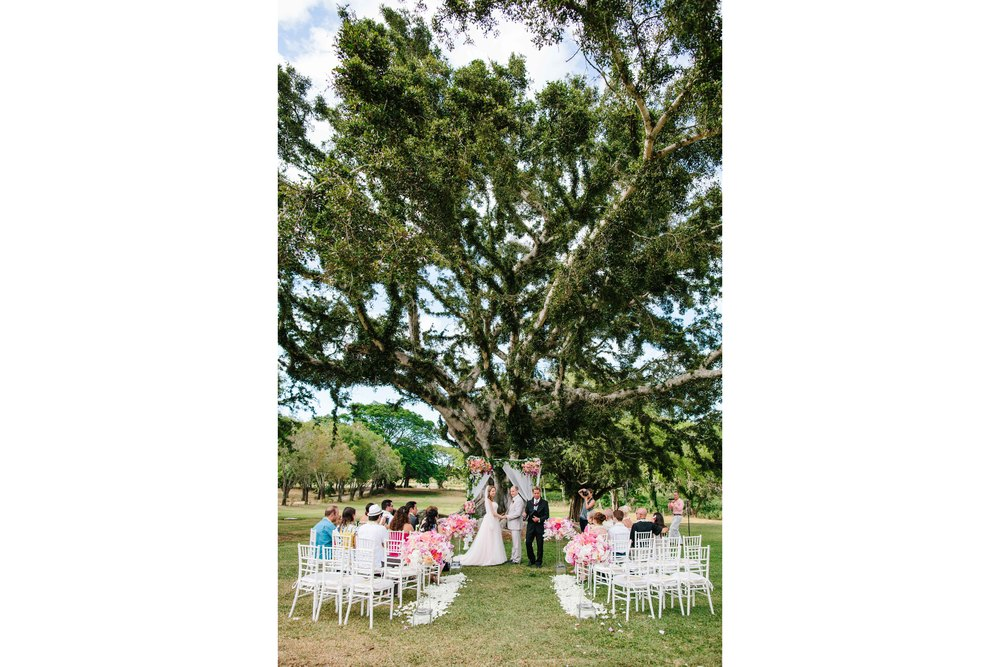 Wedding Ceremony at Dillingham Ranch