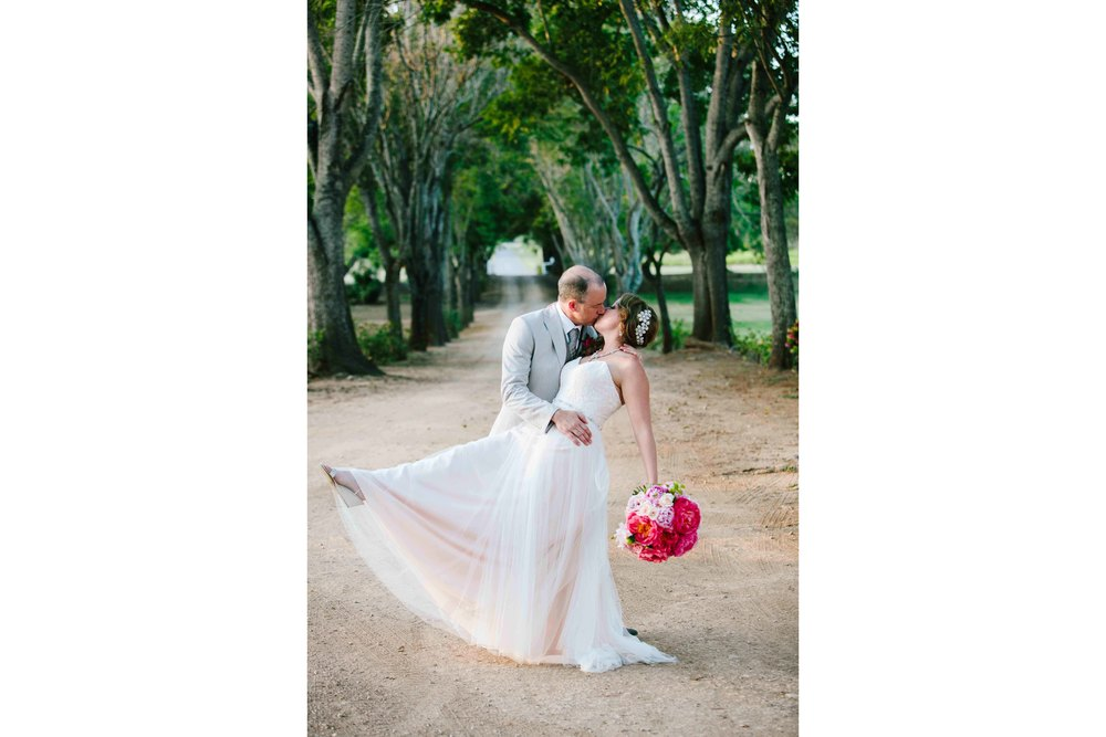 Bride and Groom at Dillingham Ranch