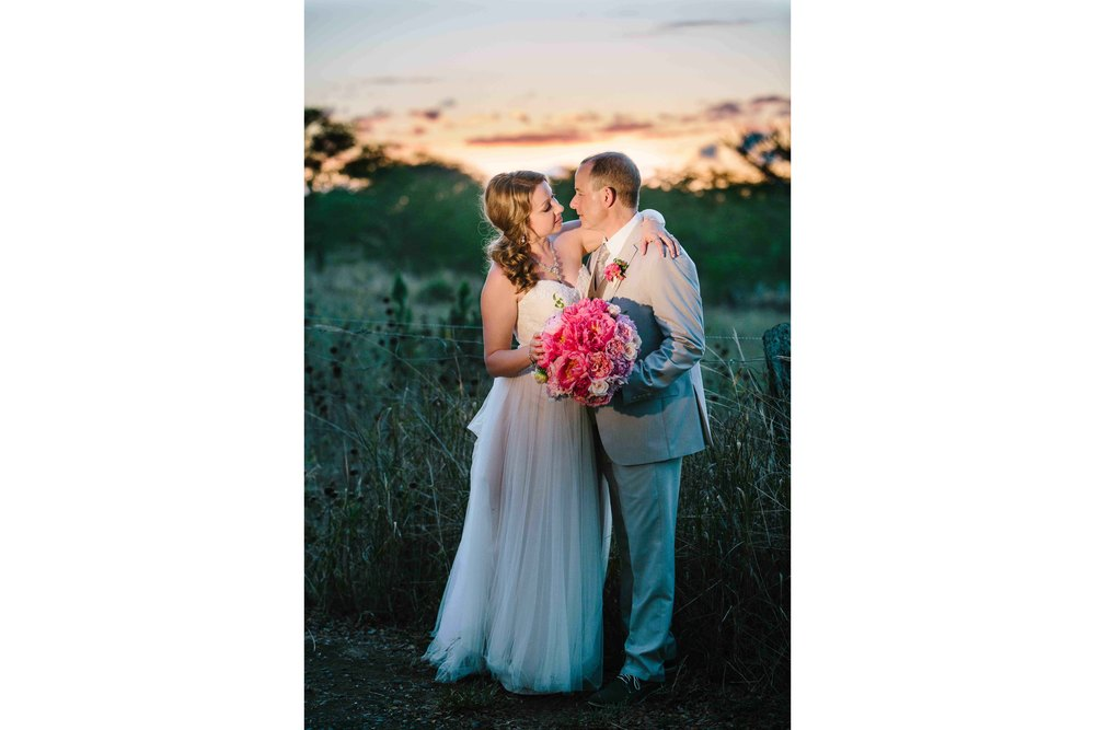 Sunset Wedding Photography at Dillingham Ranch