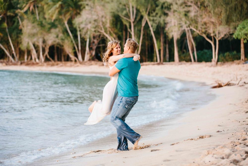 Romantic Couple Photography at the Beach