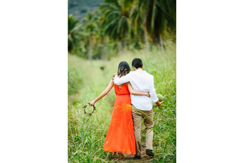 Green Grass Runway For This Couple