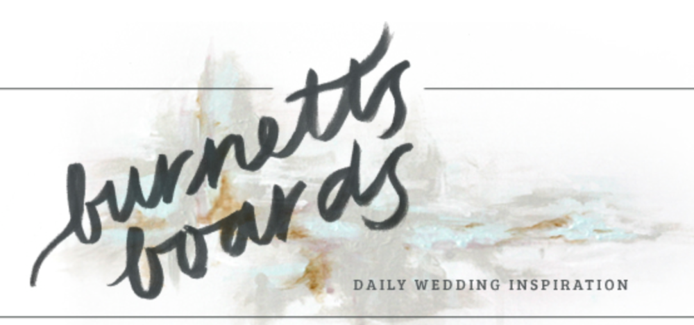 Burnett Boards Featured Wedding Photographer