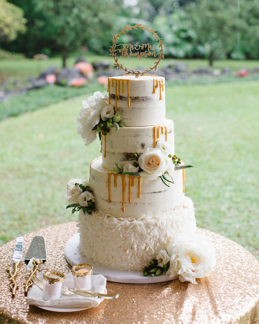 Oahu-Boho-Wedding-Cake