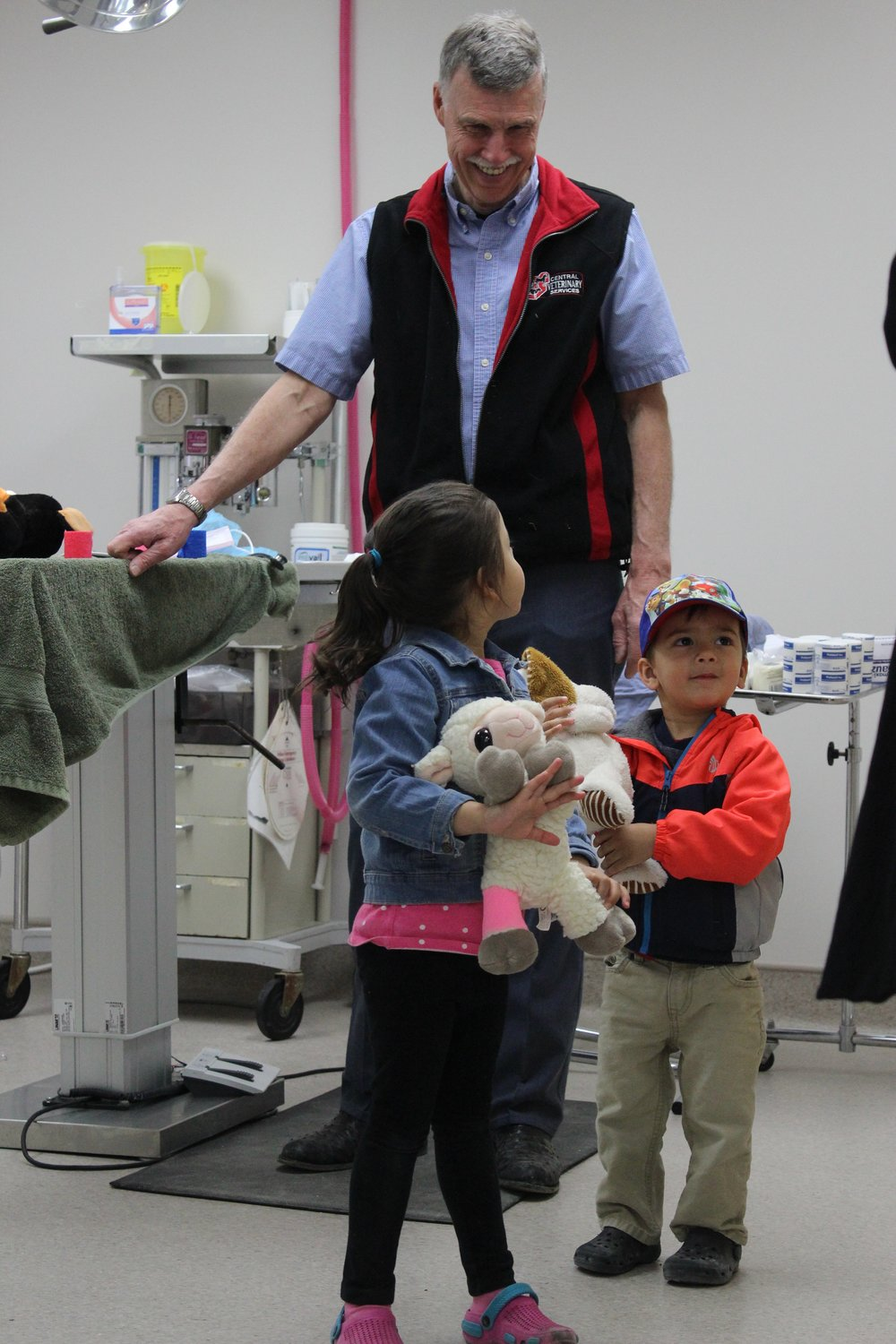 Teddy Bear Surgery with Dr. Ken Johnson