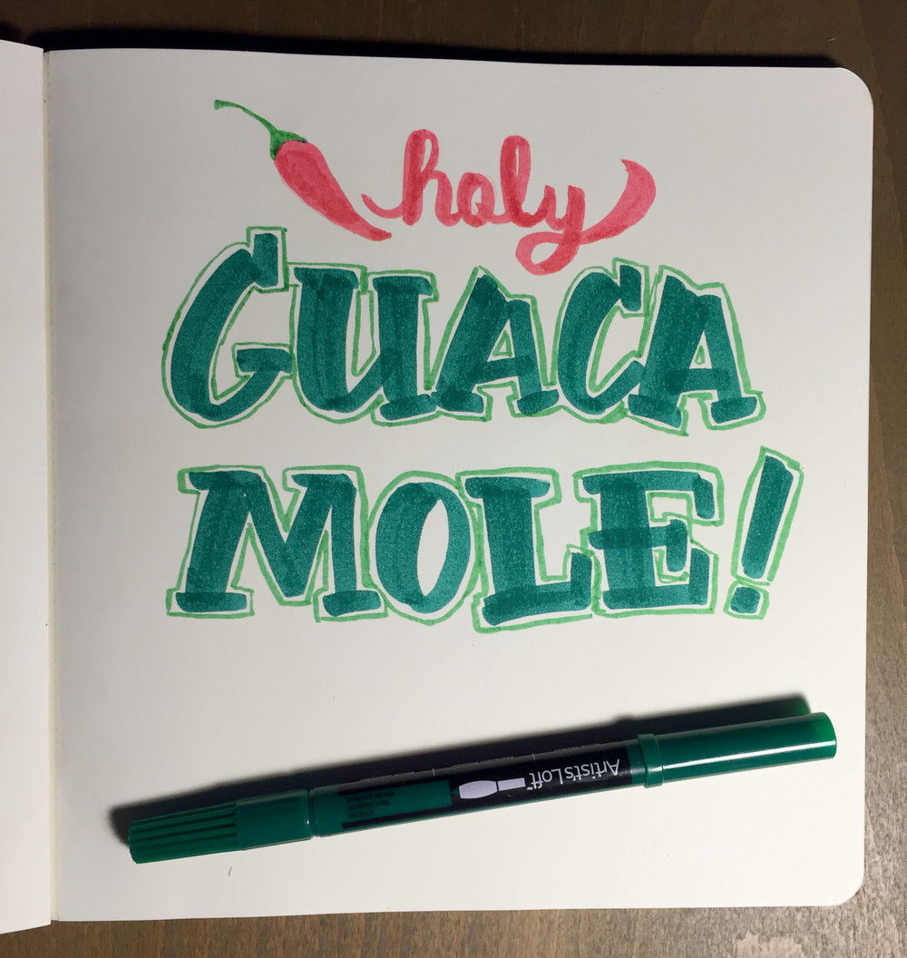 Sketchbook—Holy Guacamole!