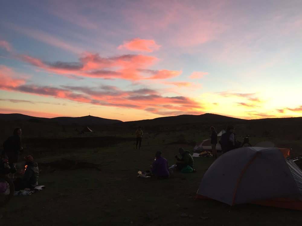 Every backcountry campsite is perfect and each is accompanied by a complimentary incredible sunset.