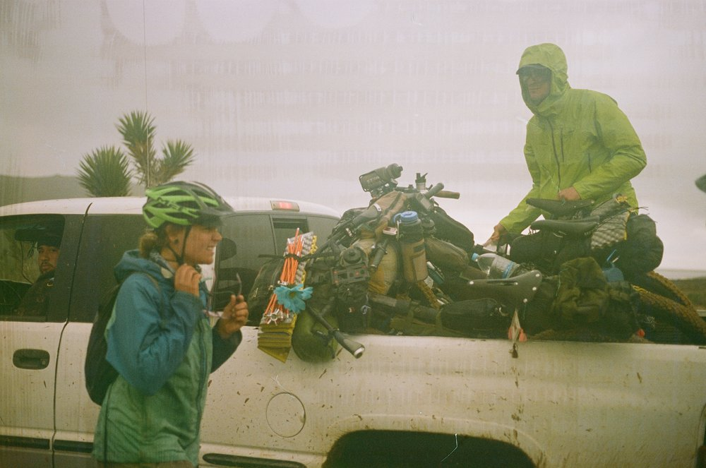 Between mechanical issues, sickness, and poor road conditions, hitchhiking is nearly inescapable on this route—like many other long bikepacking adventures. Luckily, in Mexico many people drive pickup trucks and are eager to help stranded cyclists.