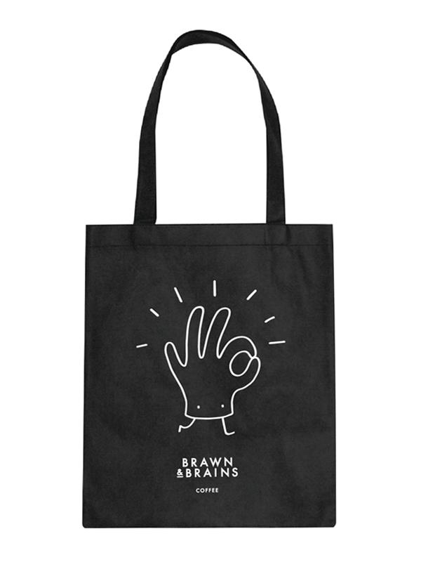 Brawn & Brains Totebag