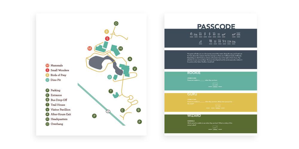 AN&SC Brochure & Wayfinding