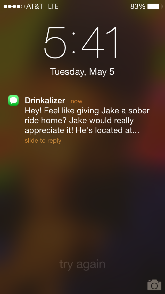 Drinkalizer App