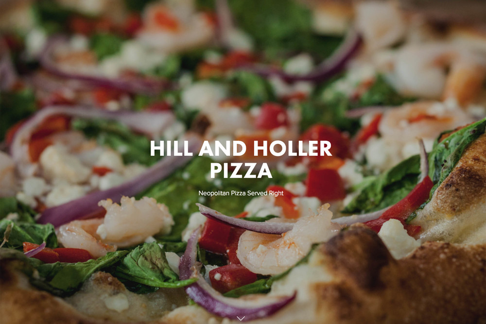 HILL AND HOLLER PIZZA