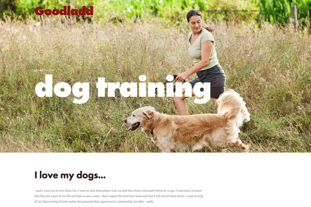 GOODLADD DOG TRAINING